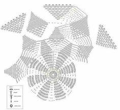 Embroidery Bracelets Home Decor Crochet Patterns Part 66 - Beautiful Crochet Patterns and Knitting Patterns - Home Decor Crochet Patterns Part 66 Crochet Tablecloth Pattern, Crochet Doily Patterns, Crochet Mandala, Crochet Motif, Crochet Doilies, Crochet Stitches, Knitting Patterns, Mandala Rug, Embroidery Bracelets