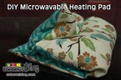 DIY Microwavable Heating Pad www.cobornsblog.com