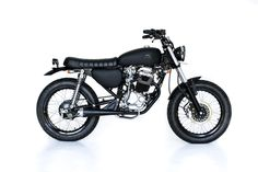 Back in black | Deus Ex Machina | Custom Motorcycles, Surfboards, Clothing and Accessories love it!!