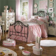 Emmas Treasures Three Drawer Mirror Door Chest By Lea Industries   Wolf  Furniture Shabby Chic Girl