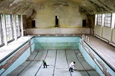 Berlin Olympics - The swimming pool was the first built for an Olympic village