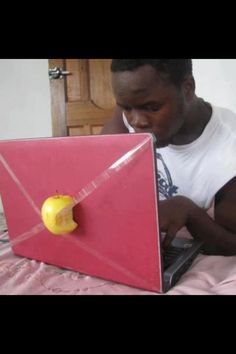 haha..this is about as close as I'm going to get to having a mac