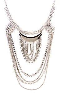 CHAIN STATEMENT Chain, Diamond, Jewelry, Fashion, Moda, Jewlery, Bijoux, Fashion Styles, Schmuck
