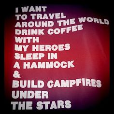 camp, under the stars, inspir, dream life, travel