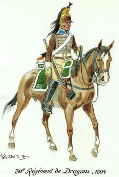 French 30th Dragoons, ex 12th Hussars 1804