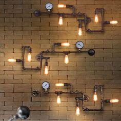 Industrial Pipe Wall Light – Modern Market Online
