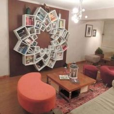 Awesome Bookshelf design!