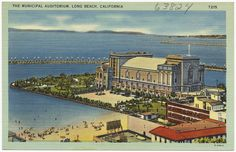 The Municipal Auditorium, Long Beach, California | by Boston Public Library
