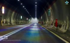 Fog in Tunnel - Pinned by Mak Khalaf Fog in Rocca Pia Tunnel. I stopped the car (risky) during the night to shoot the fog inside Fine Art abruzzoartcarcityfoggalleriagalleryitaliaitalylightmacchinamulticolornebbiarocca piastreettunnel by lucOne_phOto