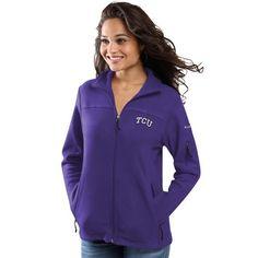 TCU Horned Frogs Columbia Women's Give & Go Full-Zip Jacket - Purple - $69.99