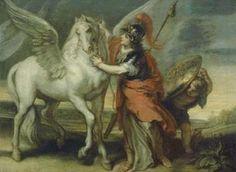 Atenea y Pegaso