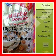 Galletas mini Marbú Dorada