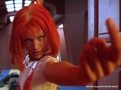 Milla Jovovich as Leeloo in The Fifth Element - 1997
