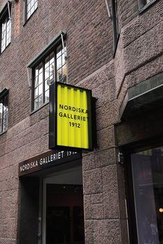 Shop Signage, Wayfinding Signage, Signage Design, Cafe Interior Design, Cafe Design, Design Design, Web Banner Design, Stockholm, Bureau Simple
