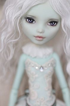 Monster High Doll OOAK Frankie Stein Custom Repaint