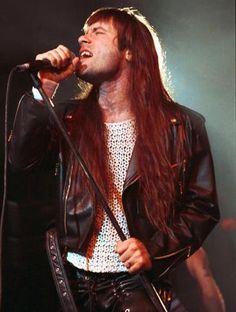 Paul Bruce Dickinson of Iron Maiden