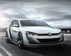 volkswagen design vision GTI - MK7. I love myMK6 golf, but this one is getting better.