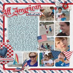 Layout by YepBrook--great page, combines with another one to make a 12 X 24 layout.