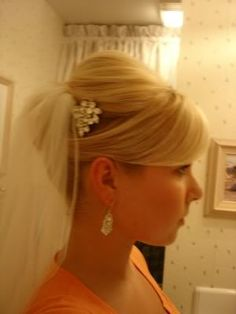 Really like this... but with a flower instead of the bling