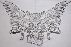 Image Detail for - owl-drawings