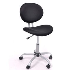 fabric task chair without arms. black round middle back computer chair task 360 swivel fabric office upholstered dining without arms