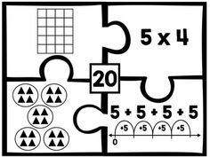 Equal Groups Multiplication Game 3rd Grade Distance