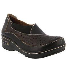 L'Artiste by Spring Step Slip-On Shoes- Brunbak #ClogsShoesSlipOn