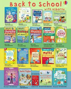 If you are interested in any Usborne books or would like more information…