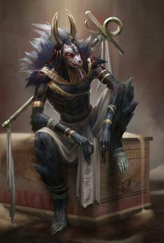Cool looking Anubis