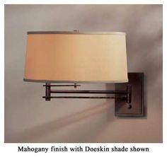 Hubbardton Forge 20-9301 Forged Bar Swing Arm Wall Lamp - hub-20-9301