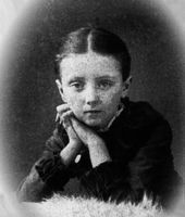 """Lucy Maud Montgomery at age 10 in 1884.  Author of the """"Anne of Green Gables"""" series.  #CDNGetaway"""