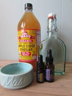 Toner for dark spots using apple cider vinegar and essential oils