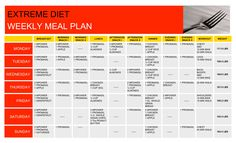 Extreme Weight Loss Diet Plan!