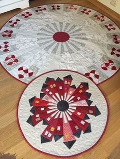 """I'm just loving seeing all the different Dresden Neighborhood Mini Quilts folks are making! I have decided to do a """"monthly roundup"""" on my blog to share with you some of the neighborhoods that are sh"""