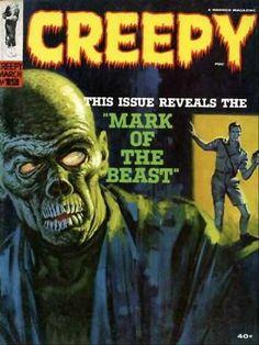 Creepy Magazine----Mark of the Beast!