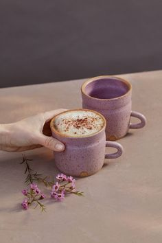 Modern rustic ceramic tableware for your everyday rituals. Handmade in Los Angeles, California. Pink Coffee Cups, Ceramic Coffee Cups, Coffee Mugs, Ceramic Tableware, Ceramic Clay, Ceramic Bowls, Pottery Mugs, Ceramic Pottery, Slab Pottery
