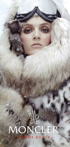 Ok, tahts no pufyf down jacket, but it's just fabulous  Moncler Fall 2013 campaign