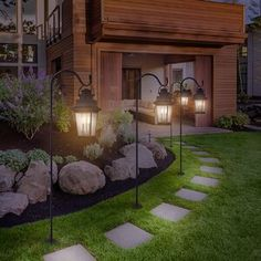Take your patio layout design to the next level with our list of favorite ideas. Whether it is large patios, or fire pits you will find everything you need Design Cour, Front Yard Design, Front Yard Ideas, Front Yard Decor, Driveway Design, Backyard Garden Design, House Garden Design, Small Backyard Gardens, Backyard Designs