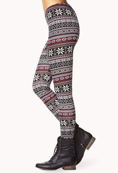 Patterned leggings | Leggings | Pinterest | I want, Patterned ...