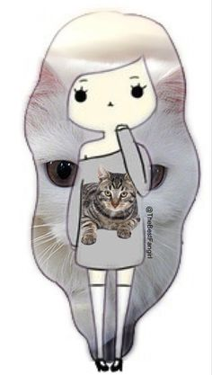 Cat Chibi girl (credit to @TheBestFangirl)