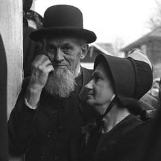 An elderly Amish couple, c. 1940. Prints and Photographs Division ...  loc.gov