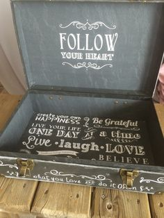 Love suitcase