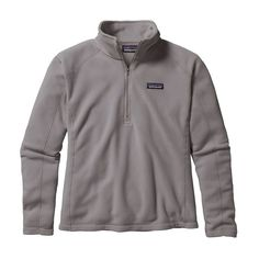 W's Micro D® 1/4-Zip, Feather Grey (FEA)