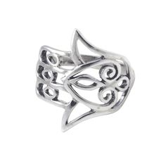 Silver Hamsa Ring #shopapop