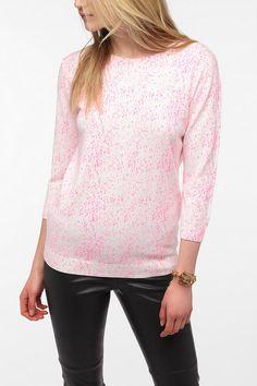Sparkle & Fade Paint Splatter Sweater #UrbanOutfitters