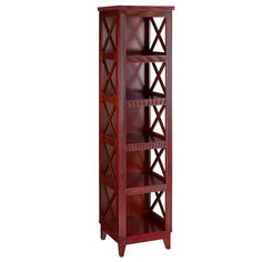 "Bombay Heritage Chelsea 72"" Shelf Bookcase"
