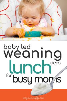 Baby Led Weaning Lunch Ideas, Baby Led Weaning First Foods, Baby Weaning, Feeding Baby Solids, Solids For Baby, Health Activities, Infant Activities, Gentle Parenting, Parenting Advice
