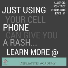 Keep your family safe from the growing epidemic of Nickel Allergic Contact Dermatitis! Much more to learn. Contact Dermatitis, How To Find Out, How To Remove, Facts, Canning, Phone, Telephone, Home Canning, Mobile Phones
