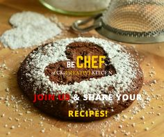 Do you love to cook? We are looking for cheerful home chefs. Let's join us and share your recipes! Easy facebook registration at http://www.ck-creativekitchen.com.