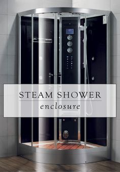 This Steam Shower Enclosure is the ultimate way to de-stress. This state-of-the-art design has touch screen controls, an LCD display, and wireless audio capabilities for ultimate relaxation.